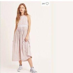 Free People halter dress